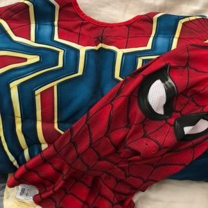 Avengers Infinity War Spider-Man Muscle Costume